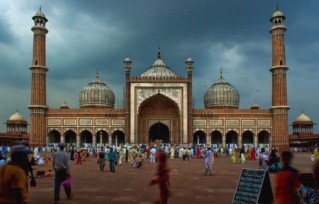 Jama Masjid of Delhi is the largest mosque in India