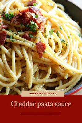 Cheddar pasta sauce Recipe