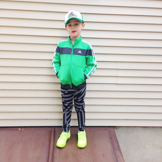 boy sports outfit