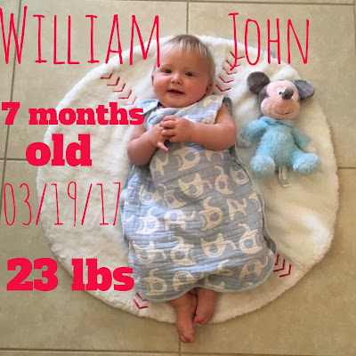 Disney Baby: Will is Seven Months Old