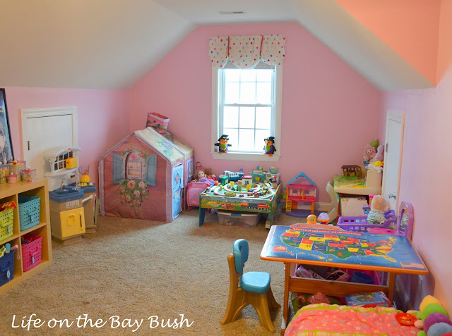 Playroom Built-Ins Idea