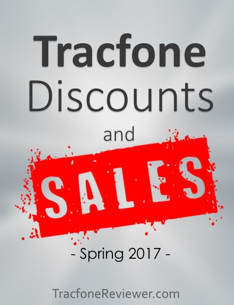 Tracfone Deals and Sales for March 2017