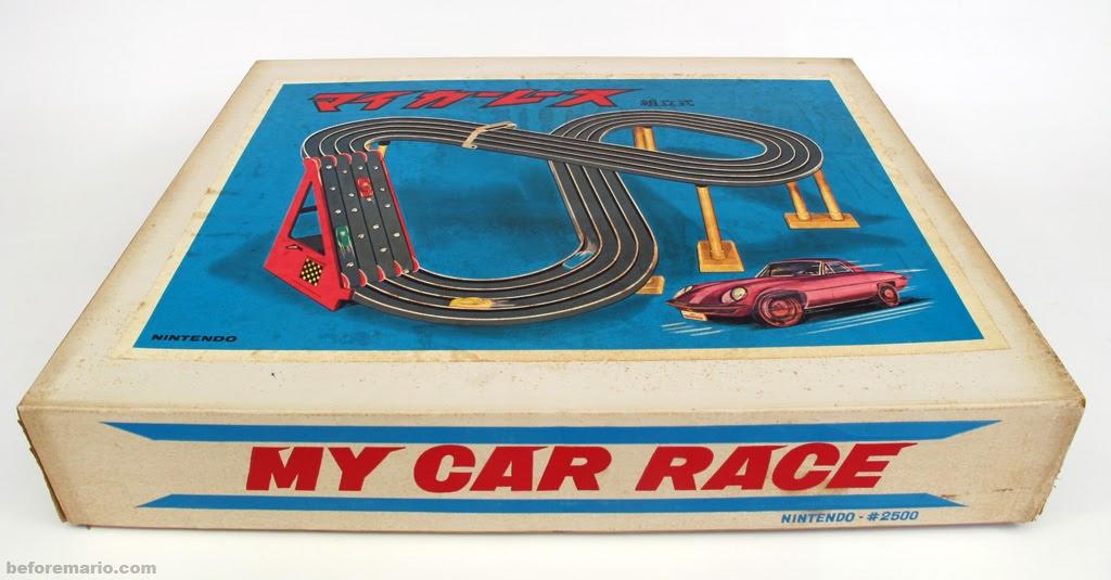 beforemario nintendo my car race ca 1965. Black Bedroom Furniture Sets. Home Design Ideas