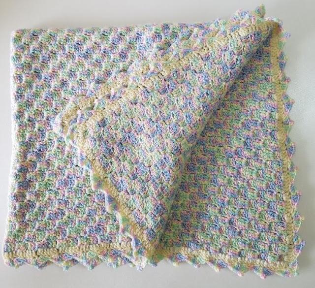 Pastel C2C blanket crochetkari
