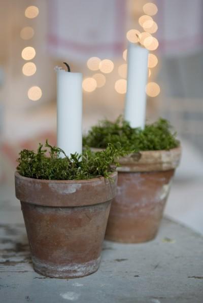Centros de mesa para o Natal
