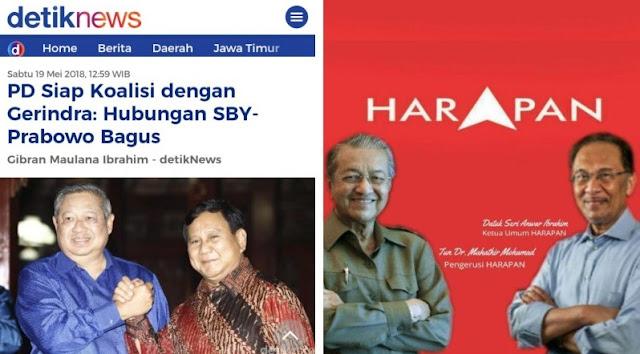 Koalisi SBY-Prabowo Bakal Seperti Koalisi Mahathir-Anwar Ibrahim