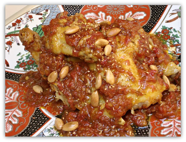 tajine de poulet marocaine