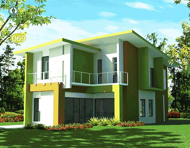Desain Dapur Warna Hijau Cantik Thegorbalsla