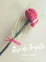 http://www.cosicasraquel.es/2017/05/paso-paso-rosa-de-trapillo.html