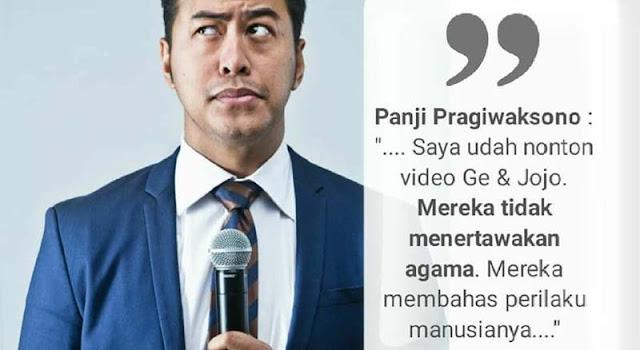 Bantahan Telak untuk Pandji Pragiwaksono yang Sebut Tak Ada Masalah dengan Video Ge Pamungkas dan Joshua