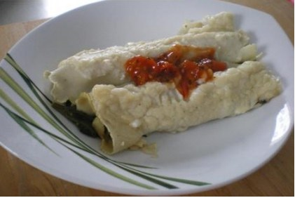 Cannelloni spinach goat cheese easy