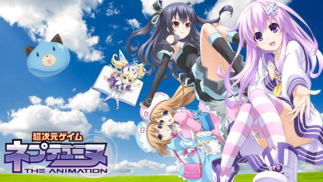 Hyperdimension Neptunia - Hyperdimension Neptunia Sub Indo BD (Episode 01 – 12) + OVA