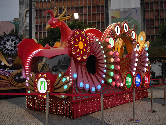 Local Colors: Macau's Year of the Rooster Parade Floats