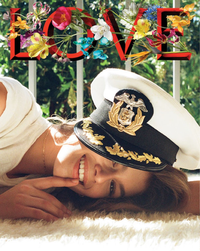 Kendall Jenner Photographs Kaia Gerber for LOVE Magazine
