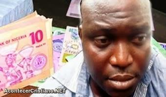 Falso pastor detenido por falsificación de dinero