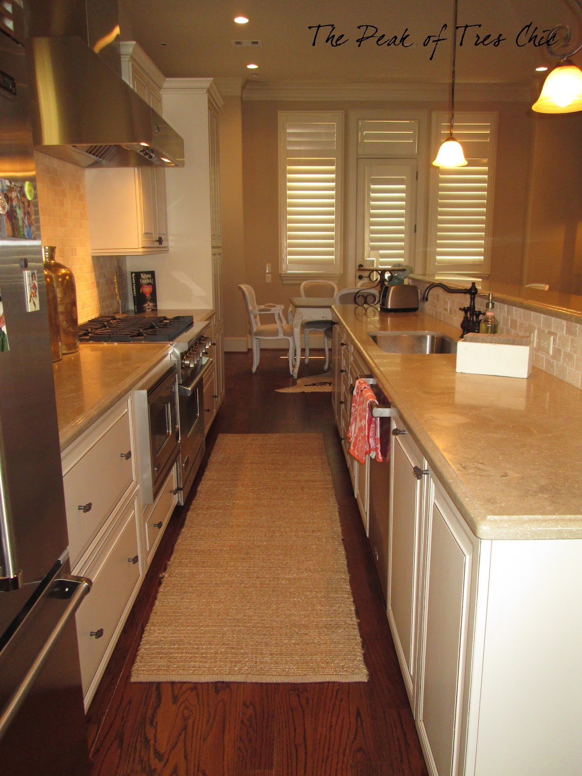 The Peak Of Tr 232 S Chic My Kitchen Reveal