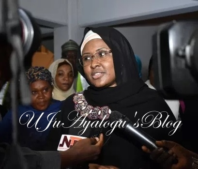 THE UNTOLD: Why Aisha Buhari Rushes Back To UK To See Husband As Fayose Insist President On Life Support