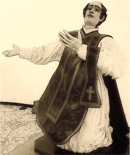 Imagem de São Francisco de Borja na Igreja Matriz de São Borja