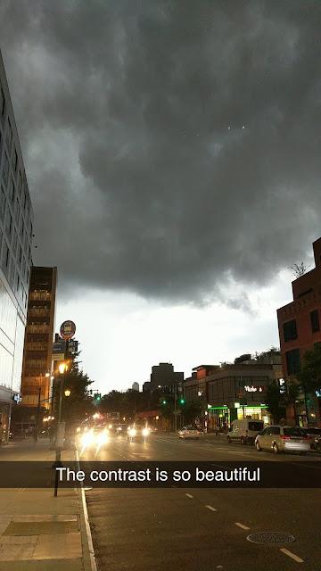 Black triangle UFO caught on camera in Brooklyn New York.