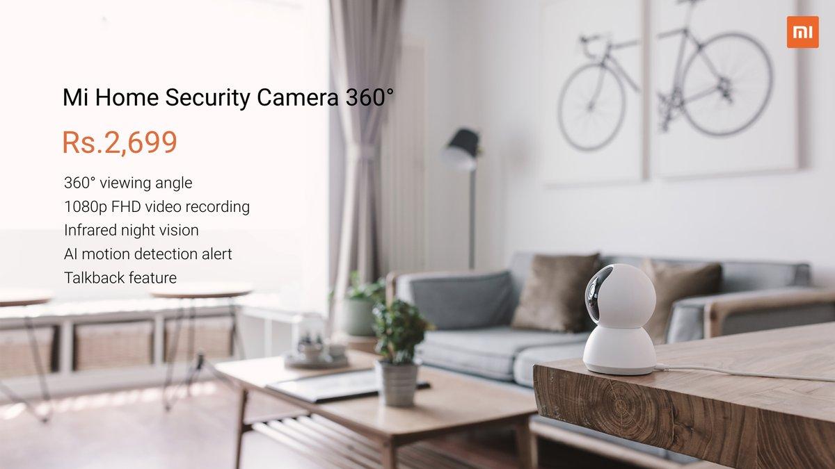 MI Home Security Camera 360 Price, Specs [ India ]