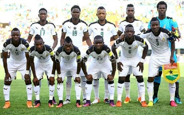 WATCH AFCON 2017: Black Stars line-up against Mali