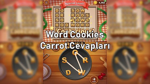 Word Cookies Carrot Cevapları