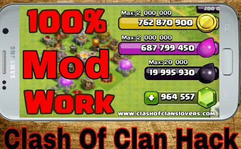 download clash of clans mod apk unlimited money and gems