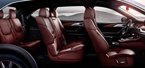 Mazda CX-9 2018 Interior