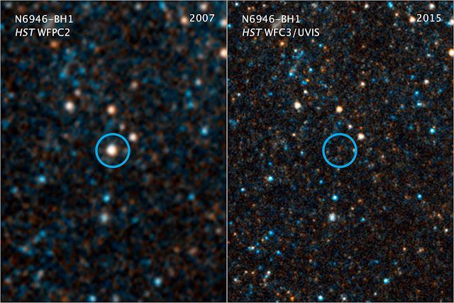 N6946-BH1 bintang ini hilang