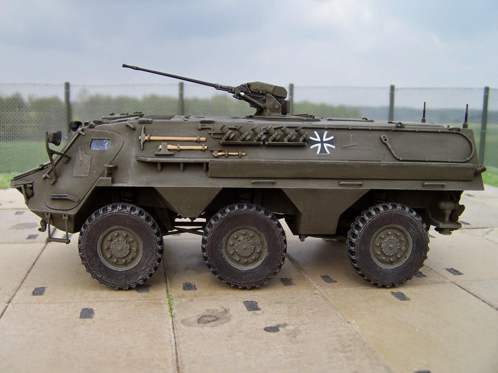 Fuchs Radpanzer