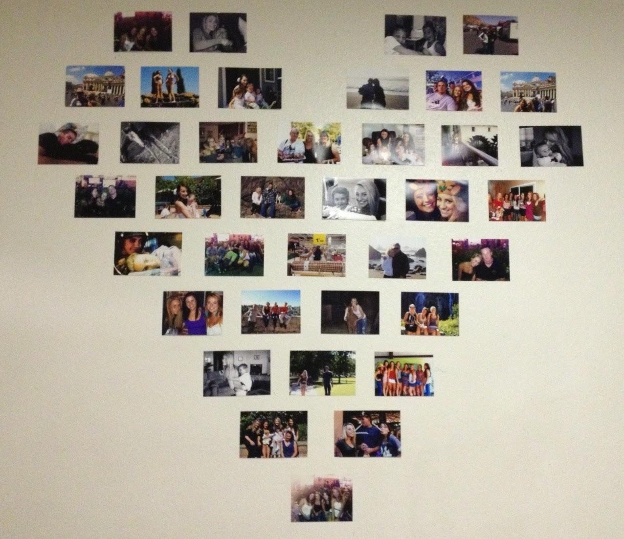 Stay Lovely: DIY :: HEART WALL