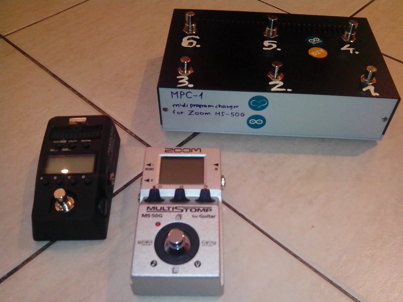 arduino based midi patch changer for zoom ms 50g. Black Bedroom Furniture Sets. Home Design Ideas
