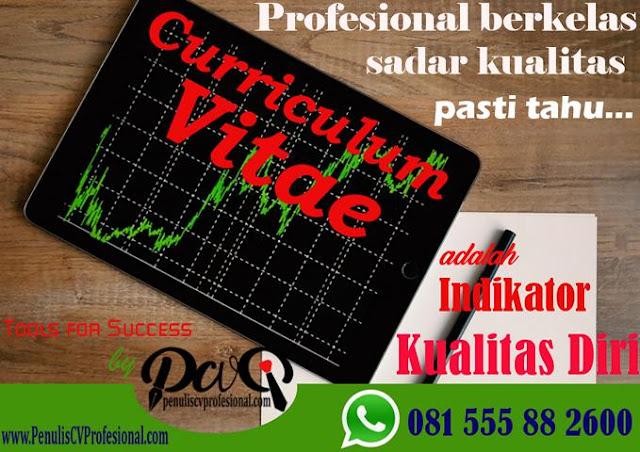 Jasa Pembuatan Curriculum Vitae dan Surat Lamaran Kerja