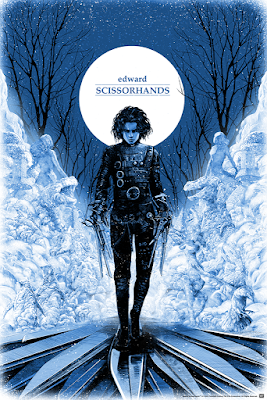 Edward Scissorhands Screen Print by Shan Jiang x Mondo