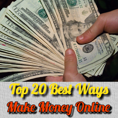 Top 20 best ways to make money online from home