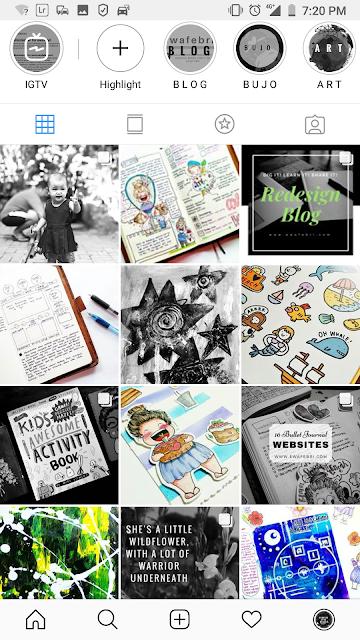 Feed Instagram Keren Ewafebri