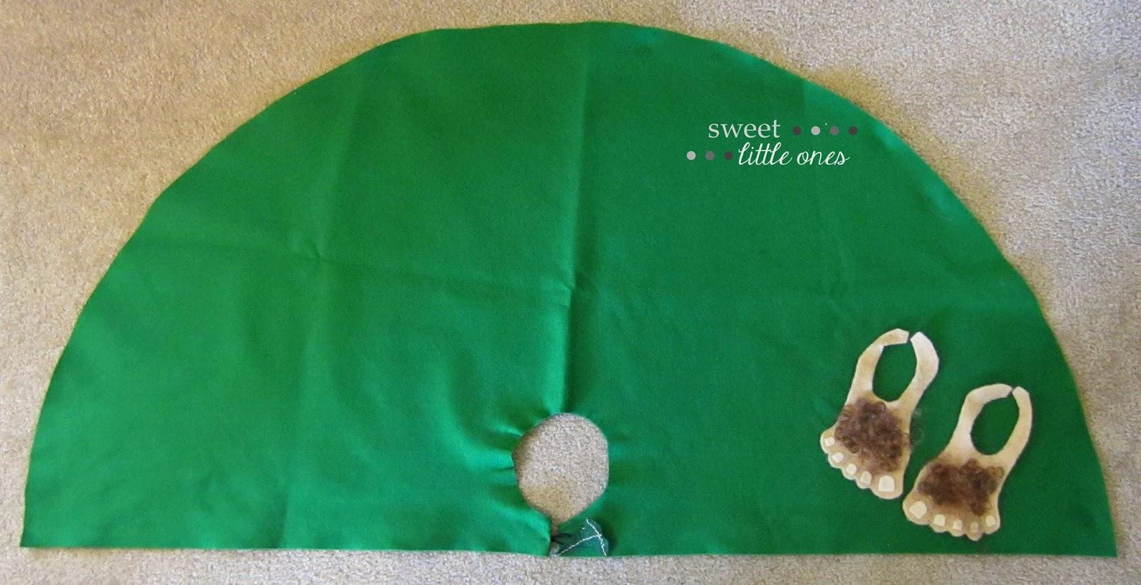 DIY Hobbit Halloween Costumes - www.sweetlittleonesblog.com