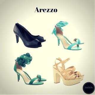 Sapatos e Sandálias da Arezzo - Marcas de Sapatos Femininos