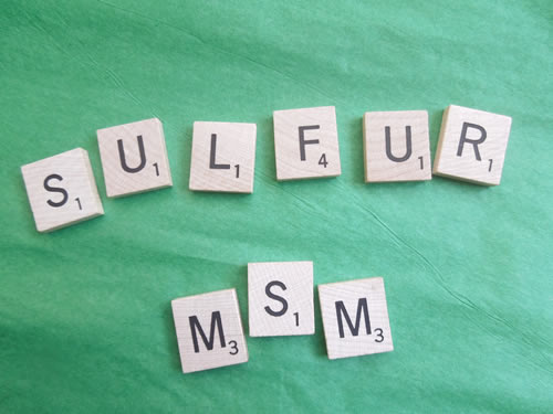 Sulfur in MSM