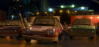 pixar cars 2 jerome ramped