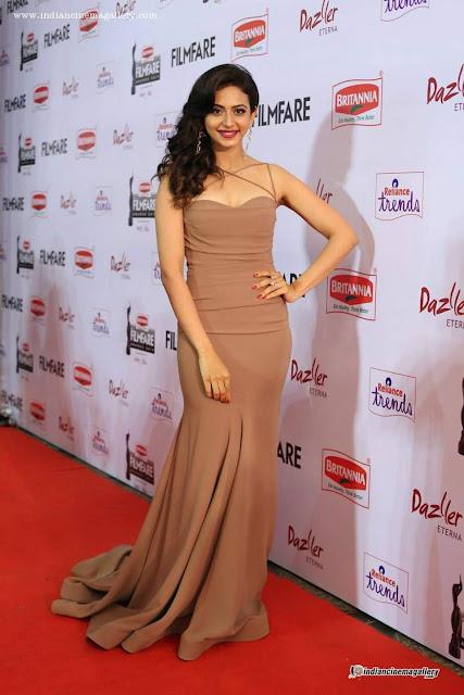 Rakul Preet in party gown