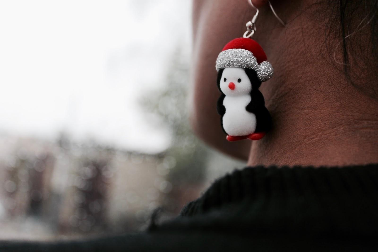 Dorothy Perkins Penguin Earrings