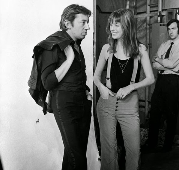 Stylish-Celebrity-Fashion-Couples-Jane-Birkin-and-Serge