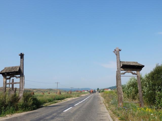 """""""Wojewódzka"""" droga w sierpniu 2014"""