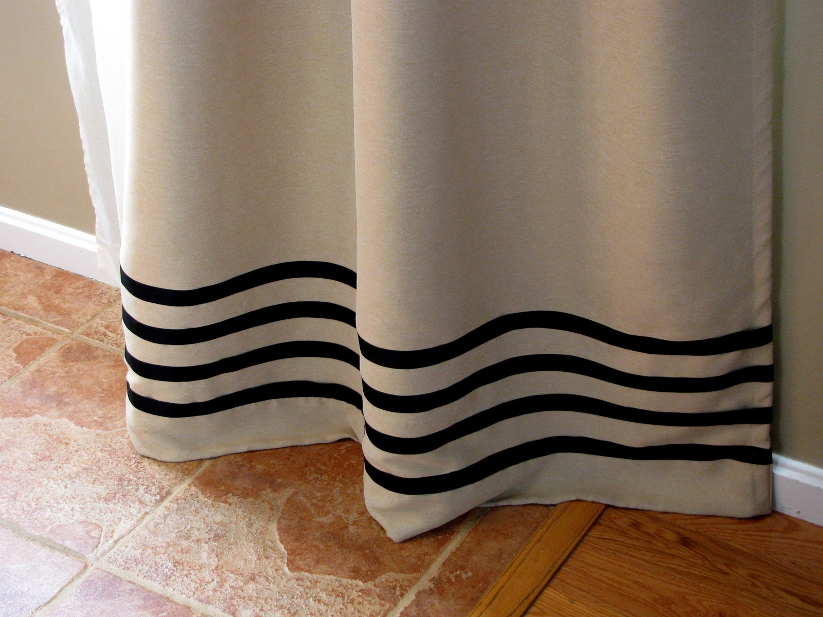 No Sew Curtain Panels Inspired By Ballard Designs