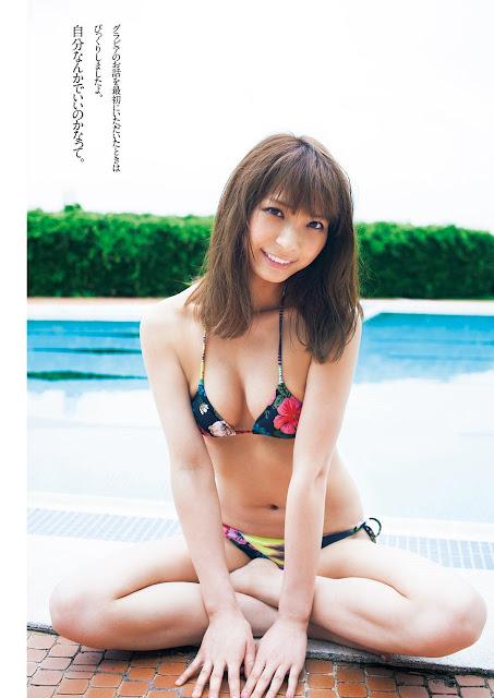 本間成美 Honma Narumi Weekly Playboy No 26 June 2017 Photos