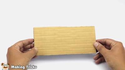 cara membuat stand hp dari kardus bekas