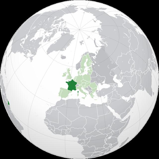 Letak negara Perancis