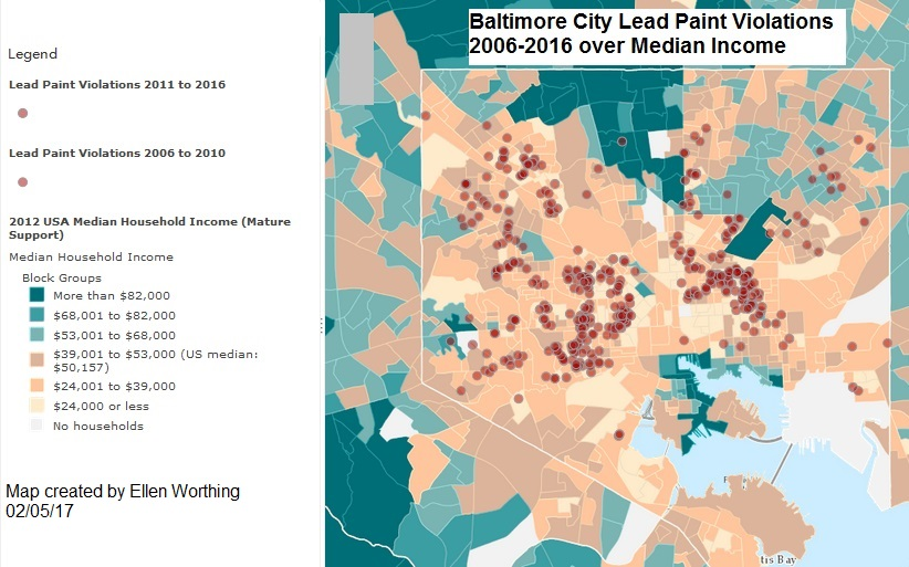 Miscellaneous Posts Baltimore City Lead Paint Violation - Baltimore usa map