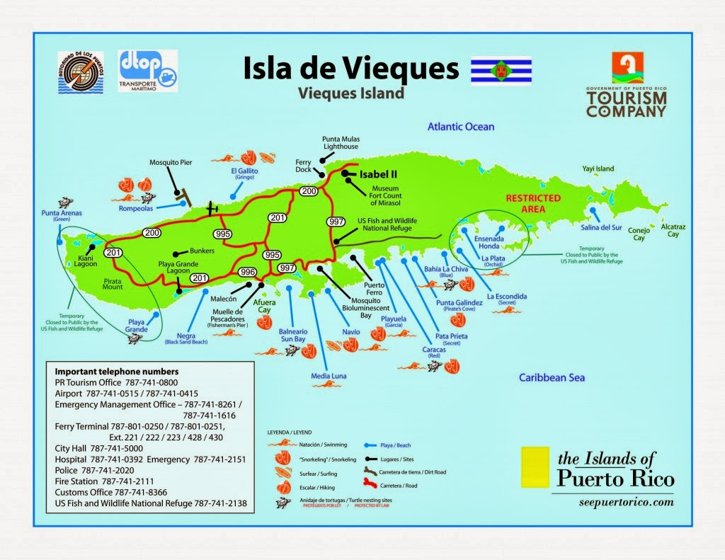 Car Rental Vieques: Lap Child Diaries: Vieques By Jeep